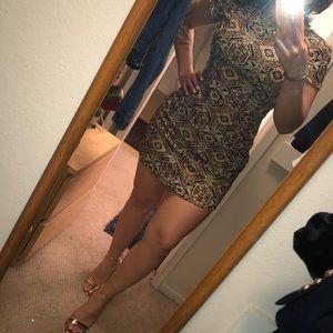 Trafaluc Jaquard Mini dress